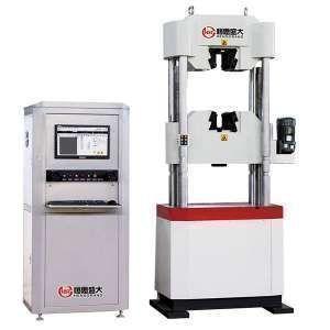 电子万能试验机的正确维护保养与部件组成
